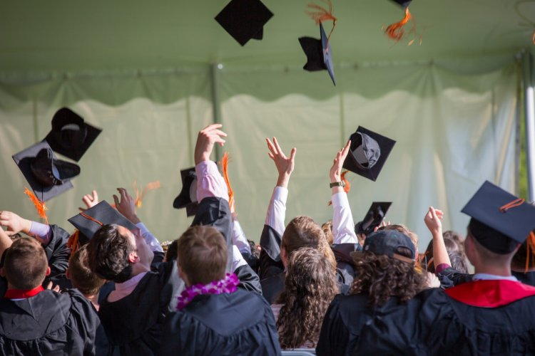 Pandemic doesn't dampen spirits of graduates as they look to future