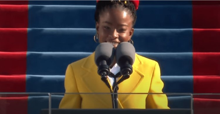 WATCH: Amanda Gorman makes history as youngest inaugural poet