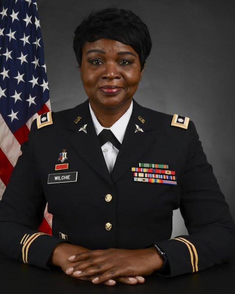Battalion command fits Dr. Juanita Wilchie